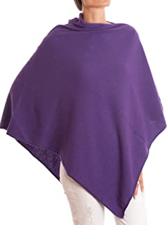 DALLE PIANE CASHMERE - Poncho Cashmere Blend - Made in Italy