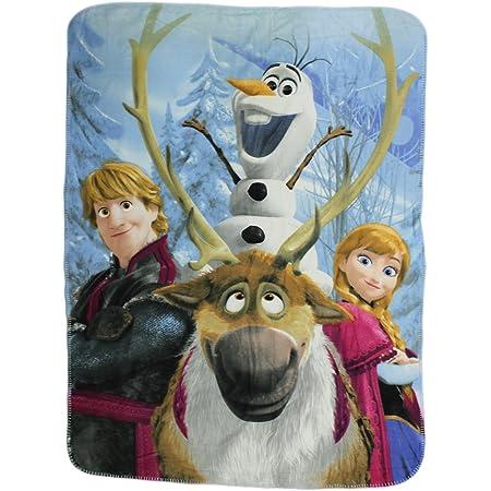 Quilt Blanket Print In USA Olaf Funny Frozen Fleece Blanket