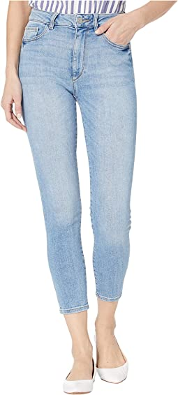 Farrow Crop High-Rise Skinny Jeans in Sorrento