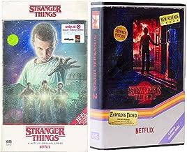 Video Hawkins 4k Stranger Things Exclusive Sci-Fi Set UHD & Blu Ray VHS Box Stranger Things Season 1 / Season 2 Upside Down Netflix series