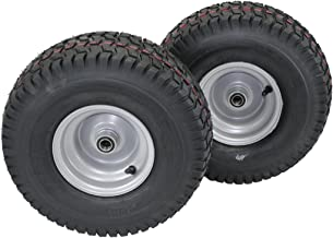 (Set of 2) 15x6.00-6 Husqvarna/Poulan Tire Wheel Assy .75