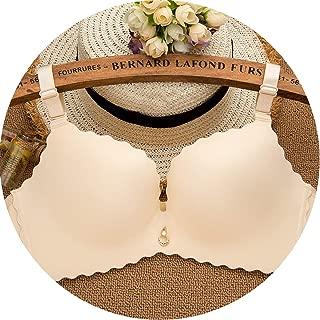 Bra Seamless Wire Free Push Up Bra Smooth Underwear Women Sexy Bras,Skin,85C