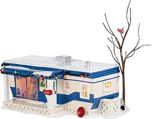 Department 56 Snow Village Lot 58 Christmas Court Lit House, 4.53 inch