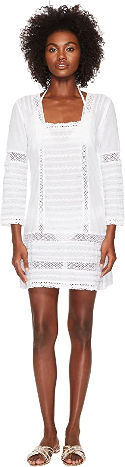 Embroidered Dress Cover-Up