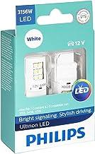 Philips 3156WLED Ultinon LED (White), 2 Pack