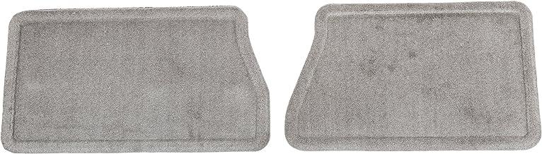GM Accessories 19206160 Rear Carpeted Floor Mats in Titanium