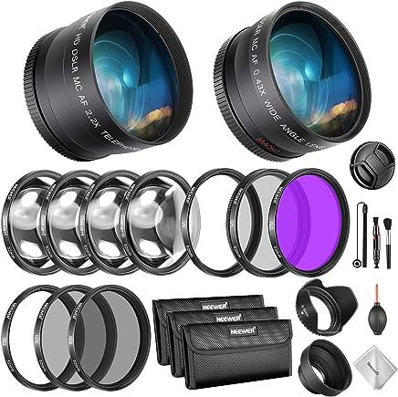 Made of HD Optical Glass and Aluminum Alloy Frame Neewer 52MM IR720 Infrared X-Ray Filter for Nikon D3300 D3200 D3100 D3000 D5300 D5200 D5100 D5000 D7000 D7100 DSLR Camera