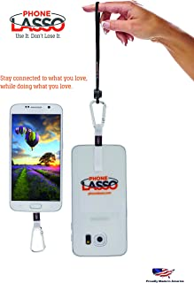 Cell Phone Neck/Wrist/Hip/Gear/Bag Holder for Smartphone Clip-On Universal Apple iPhone Samsung Galaxy