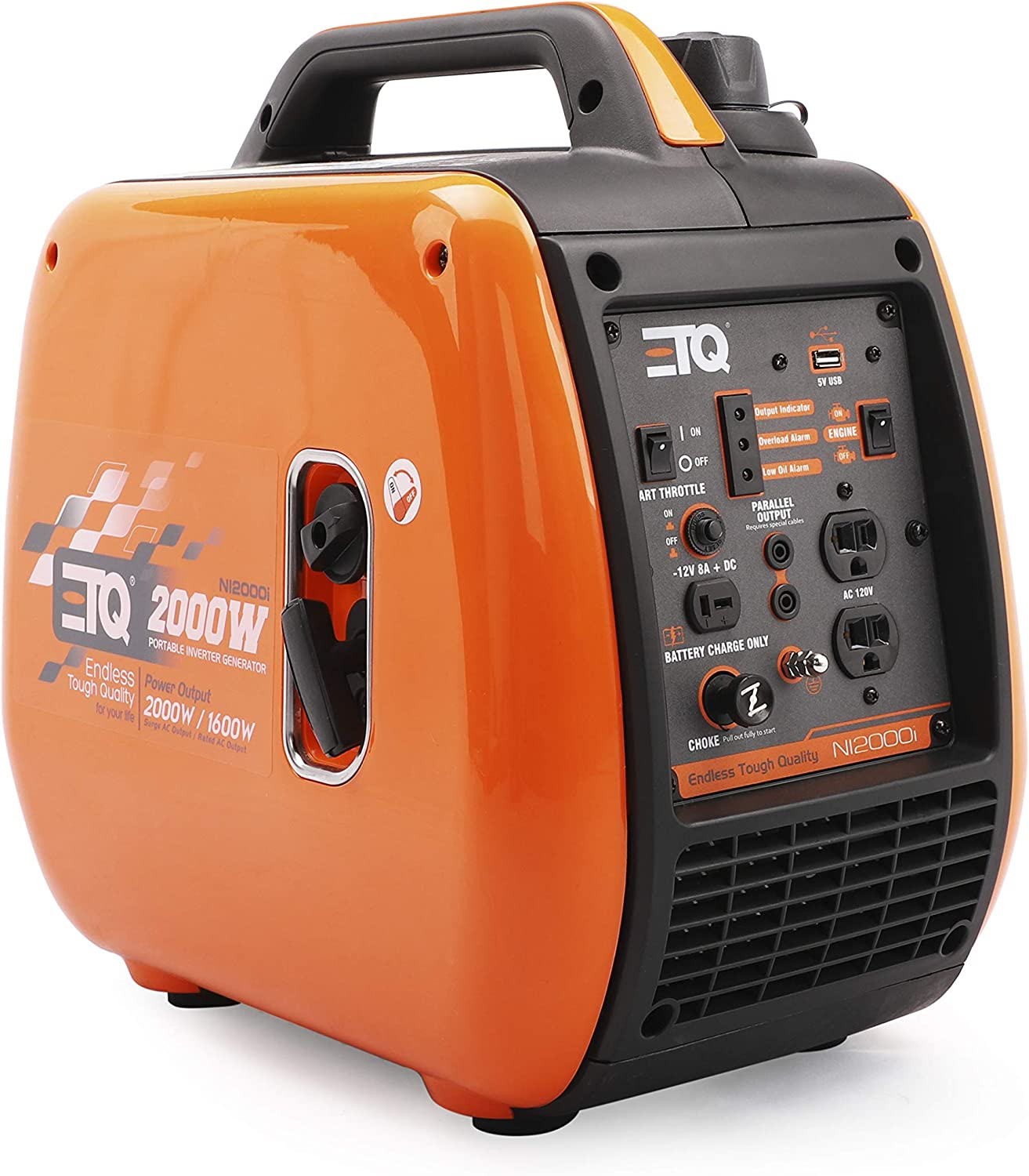 Etq 2000 Super beauty product restock quality top Watt Gas Powered Inverter CARB Generator with 5 ☆ very popular Compliant