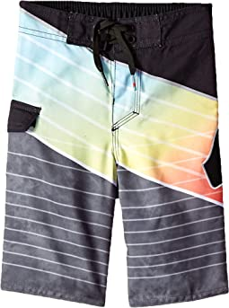 Slash Logo Boardshorts (Toddler/Little Kids)