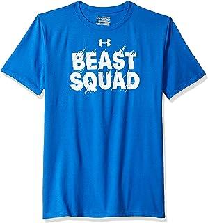 Under Armour Boys' Beast Squad Short Sleeve Tee