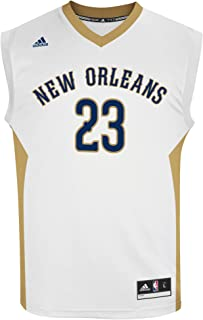 adidas Anthony Davis New Orleans Pelicans NBA Men's White Official Home Replica Jersey