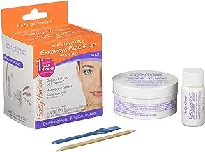Sally Hansen Eyebrow, Face, Lip Stripless Face Wax Kit, Pack Of 1