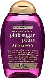OGX Limited Edition Dreamy Hydration + Pink Sugar Plum Organix Hair Shampoo 13oz (Quantity 1)