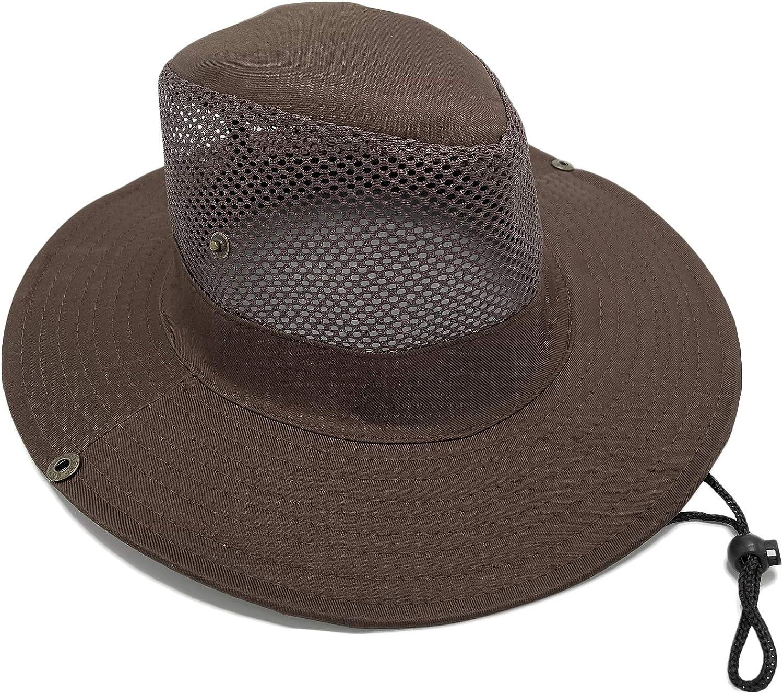 wlon Sun Hat-UPF50+ with Mesh,Safari Hat Hiking hat Fishsing Hat