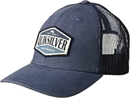 Quiksilver Waterman Wake Baker Trucker Hat