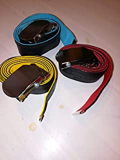 2Chance Upcycling Design Fahrradschlauch Gürtel mit Schlüsselanhänger aus Fahrradschlauch