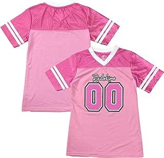 Outerstuff Washington Redskins Logo #00 Pink Dazzle Girls Toddler Jersey