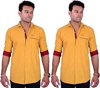 La Milano Combo of Primium Plain Shirt