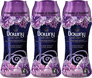 Downy Infusions In-Wash Scent Booster Beads, Lavender Serenity, 9.7 Ounce (Pack of 3)