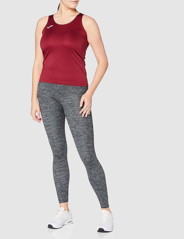 Joma Camiseta Diana Gris Melange Oscuro S//M Woman Oscuro-150 Mujer