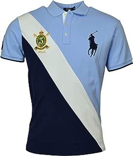 Mens Big Pony Custom Slim Fit Big Pony Crest Polo