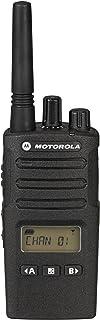 MOTOROLA XT460 - Walkie Talkie uso libre PMR446 con display 8 canales, Negro