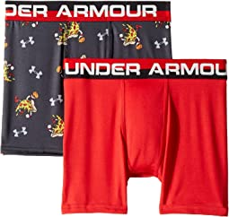 Under Armour Kids - 2-Pack Pizza Dunk Boxer Set (Big Kids)