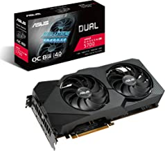 ASUS AMD Radeon RX 5700 Overclocked 8G GDDR6 Dual Fan EVO Edition HDMI DisplayPort Gaming Graphics Card (DUAL-RX5700-O8G-EVO)