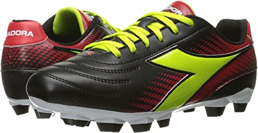 Black/Lime/Red