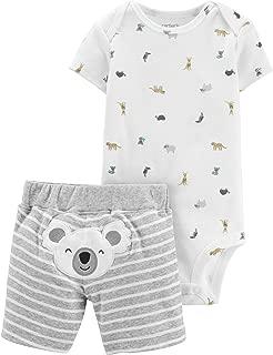Carter's Unisex-Baby 2-Piece Koala Bodysuit & Short Set