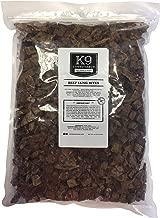 K9 Connoisseur Dog Mordidas de pulmón Golosinas hechas en los EE. UU. Oderless Grain Free Beef Chew Bites Rico en proteínas Lo mejor para cachorros, perros de raza pequeña, mediana y grande
