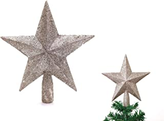 Best champagne star tree topper Reviews