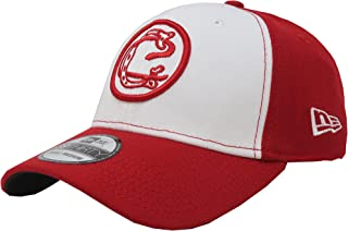 New Era 39Thirty Hat Chivas De Guadalajara Oficial Liga MX Soccer Flex Red/White Cap