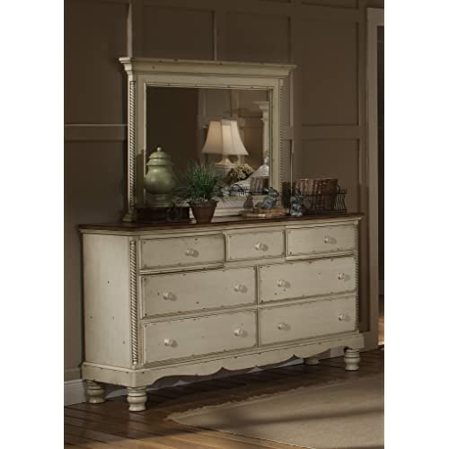Antique Dresser With Mirrors Amazon Com