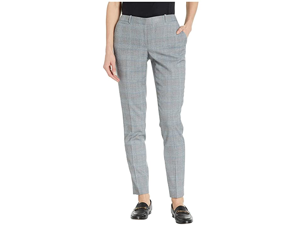 Tommy Hilfiger Menswear Plaid Radcliffe Pant (Blue Multi) Women