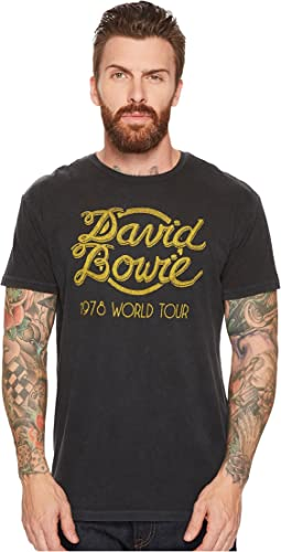 The Original Retro Brand - David Bowie World Tour Vintage Distressed Concert T-Shirt