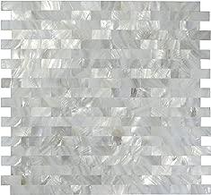 /Blanc brillant 50/g /vitrail/ Craft Carreaux de mosa/ïque/ /Petite p/étales/