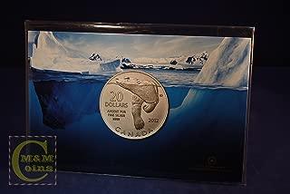 Canada $20 for $20 Pure Silver Commemorative Coin - Polar Bear (2012)