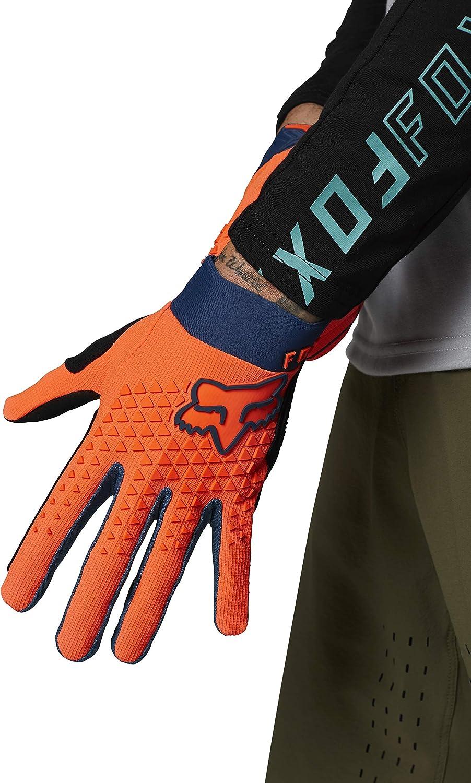 Fox Racing Unisex-Child Defend Mountain Biking Glove,Atomic Punch,Youth Medium : Sports & Outdoors
