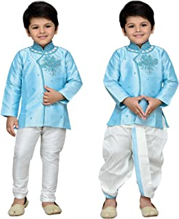AJ Dezines Kids Indian Ethnic Kurta Dhoti and Pyjamas Set for Baby Boys