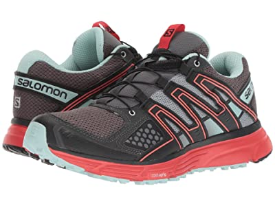 Salomon X-Mission 3 (Magnet/Black/Poppy Red) Women