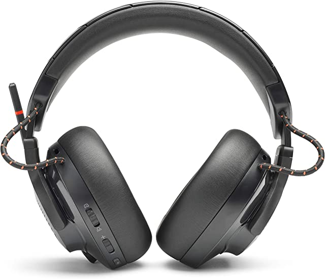 JBL Quantum 600, Wireless Over-Ear Performance Gaming Headset, Black (Renewed)