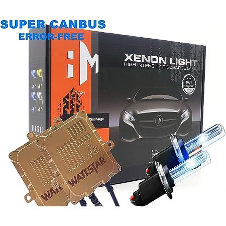Xenon Brenner Lampe und Montage Material ohne Fehlermeldung und ohne Flackern HID Vorschaltger/ät Akhan Digital 9-32V 35W CANBUS Xenon Kit Nachr/üstsatz H1 8000 Kelvin inkl