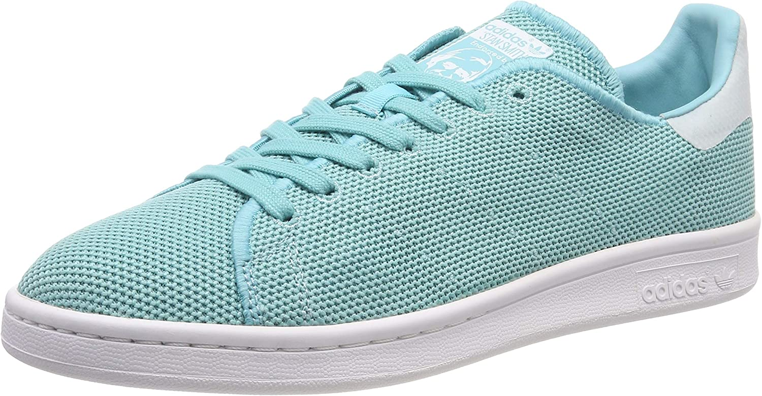 Adidas Originals Stan Smith Womens Leather Sneakers shoes-Green-6