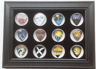 Black Display Frame for 12 Guitar Picks (Not Included)