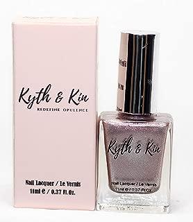 Kyth & Kin Metallic Nail Polish - Soft Rose Gold