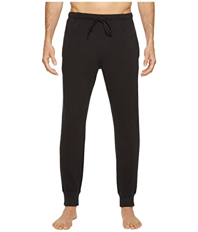 Polo Ralph Lauren Relaxed Fit Jersey Jogger Pants (Polo Black/Red Polo Player) Men