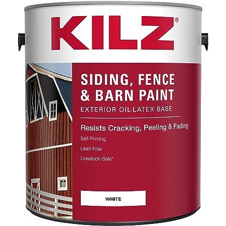 Valspar 3125-70 Barn and Fence Latex Paint, 5-Gallon