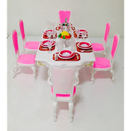 My Fancy Life Dollhouse Furniture Grand Dining Room Play Set